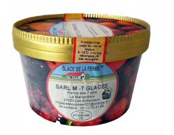 Crème glacé noix de coco - 500 ml